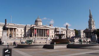 ナショナルギャラリー(National Gallery)ヨーロッパ中の名画がここに!トラファルガースクエアの見学と一緒にどうぞ