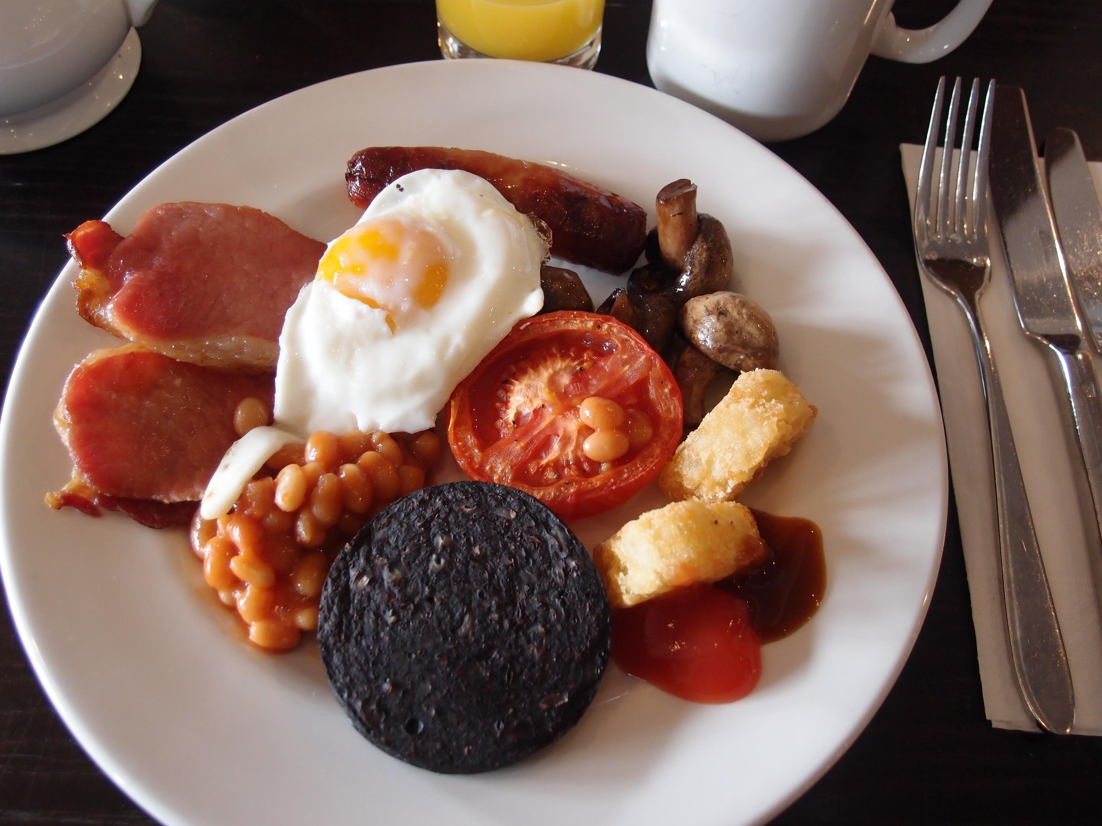 イギリス料理(朝食)は、イングリッシュ・ブレックファーストだけではありませんでした