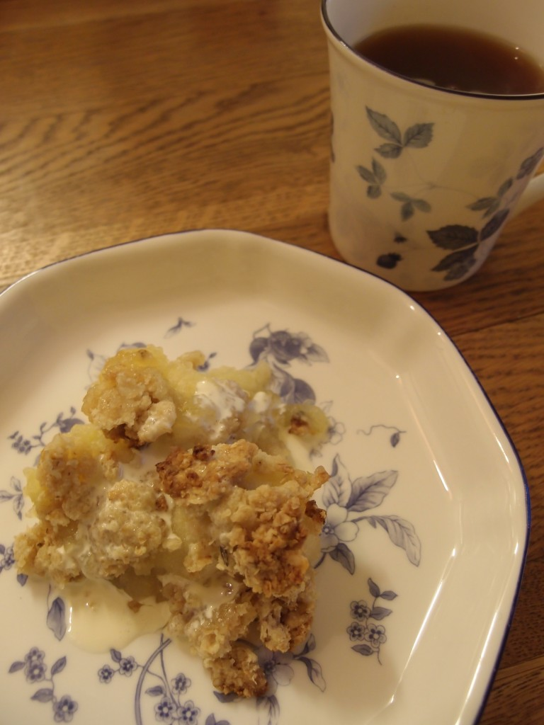 apple crumble 2