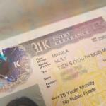 マニラで審査されていたパスポートと書類が戻ってきました!