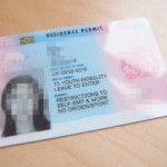 BRP( biometric residence permit)を受け取りに行きました!