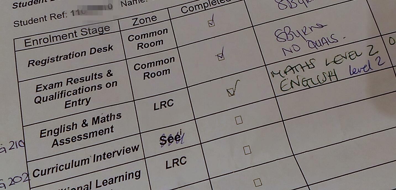 全く入学するつもりがないのに、カレッジの入学テストのようなものを受けることになってしまった件