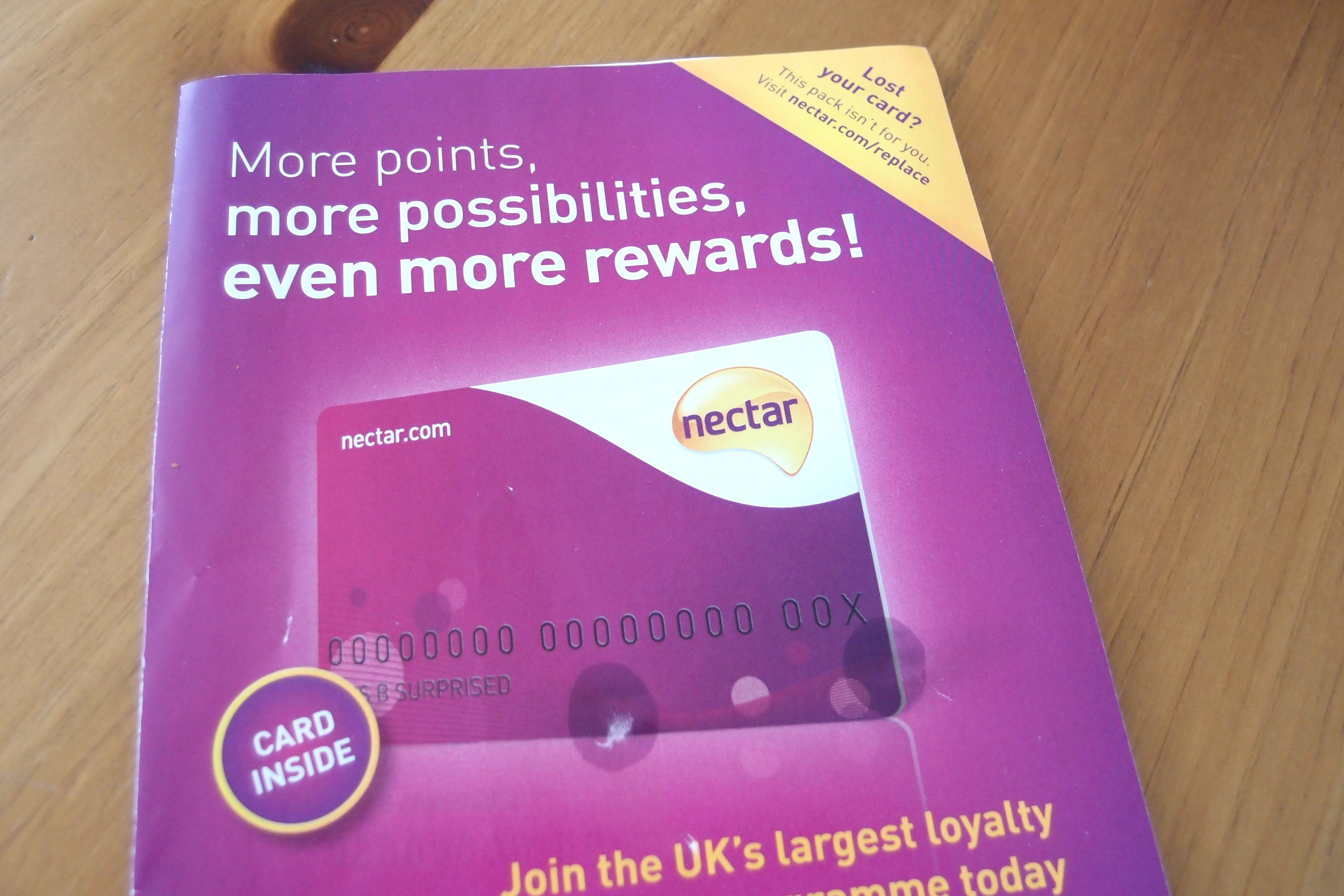 今更ですが、Sainsbury's のポイントカード (nectar card) を作る方法を記録しておきたいと思います
