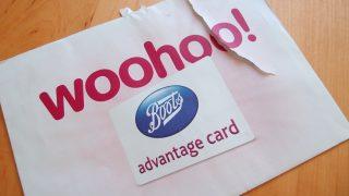 BootsのAdvantage Card を作りました。オンラインでの登録の仕方など