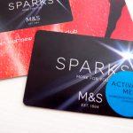 "M&S のポイントカード ""Sparks card"" の入手方法"