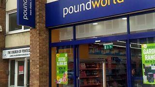 """もう一つのイギリス的100円ショップー""""Poundworld"""""""