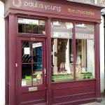 ロンドンにいるからには、Paul. a. Young のチョコレートを見逃すわけにはいきません!