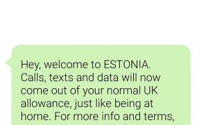 旅行中の海外(EU内)での携帯利用。普段イギリスで giffgaff を運用している人は、そのまま使えます!